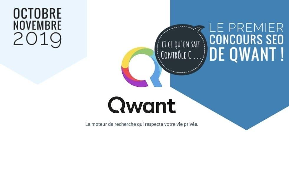 Concours SEO Qwant en décembre 2019 : une 1ère mondiale 1