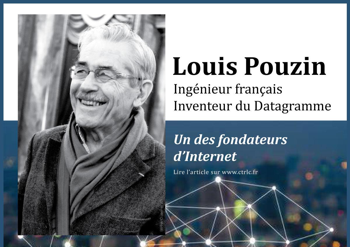 louis-pouzin un fondateur createur de notre internet avec le datagramme - histoire d internet